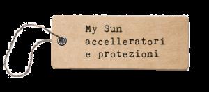 Listino Prezzi My Sun Abbronzanti