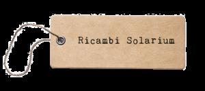 Listino Prezzi Ricambi solarium