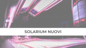 SOLARIUM PROFESSIONALI ERGOLINE