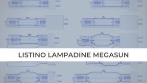 LISTINO LAMPADINE MEGASUN