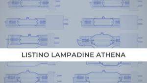 LISTINO LAMPADINE ATHENA