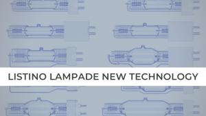 LISTINO LAMPADE NEW TECHNOLOGY