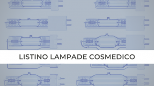 LISTINO LAMPADINE COSMEDICO CORALYA