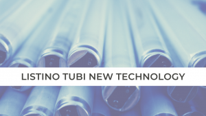LISTINO TUBI NEW TECHNOLOGY